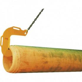 Crochet pour tuyau
