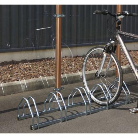 Support vélos face à face