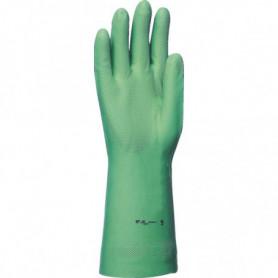Gant nitrile vert 33 cm