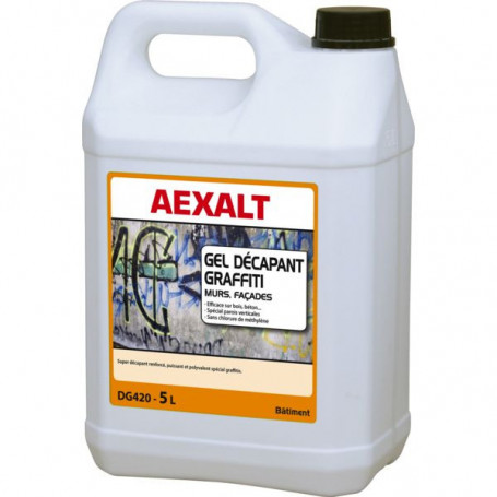 Gel décapant graffiti