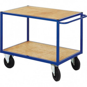 Chariot à plateaux bois 500 kg