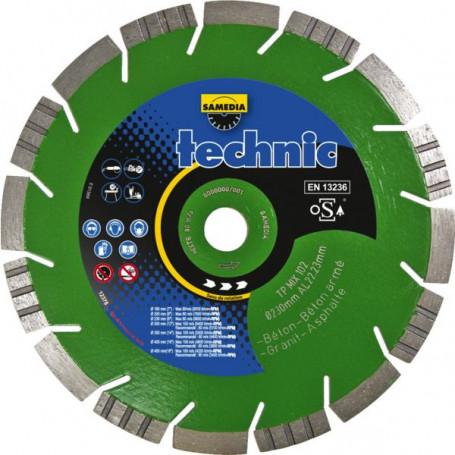 Disque diamant TP Mix 102