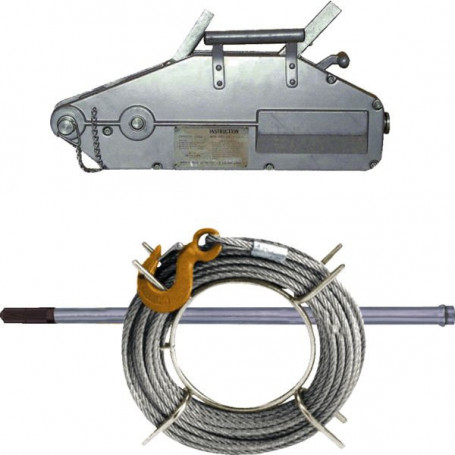 Tireur à câble en aluminium