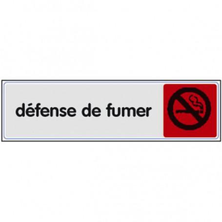 Plaquette avertissement et prévention incendie