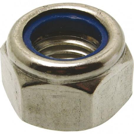 Écrou frein inox A2/A4