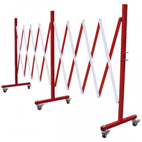 Barrière extensible droite grande longueur