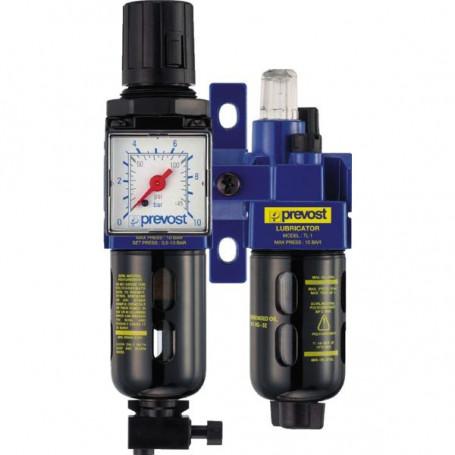 Filtre régulateur lubrificateur 30 m³/h