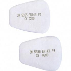 Filtre antipoussière pour utilisation avec ou sans les filtres antigaz pour 6500-6800