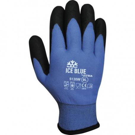Gant paume enduite PVC Ice Blue