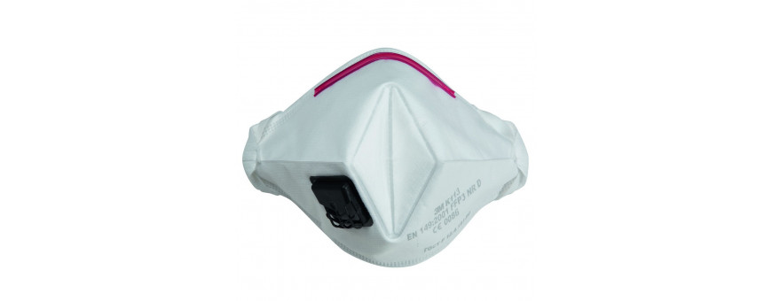Masques antipoussières à usage court