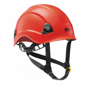 Casque vertex rouge