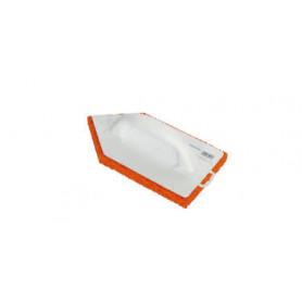 Frottoir plast. pointu 14x27
