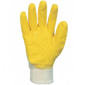 Gant nit  jaune t09