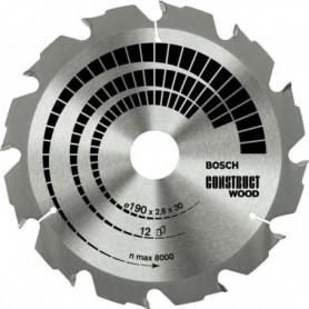 Lame de scie circulaire Construct Wood