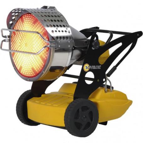 Chauffage radiant mobile au fuel