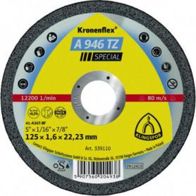 Disques à tronçonner inox et acier A 946 TZ Special