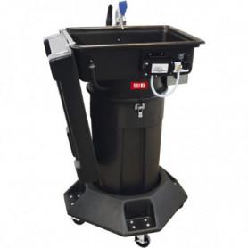 Fontaine mobile de nettoyage sans solvant