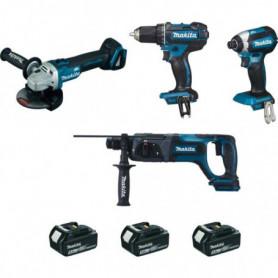 Ensemble de 4 outils 18 V