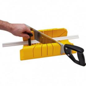 Boîte à coupe ABS avec scie à dos