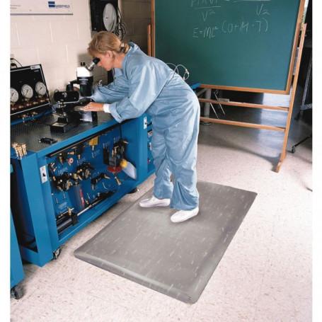 Tapis ergonomique pour environnement commercial et laboratoire