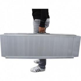 Rampe valise en aluminium
