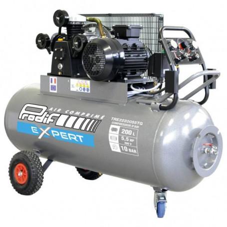 Compresseur mobile 200 l - 27 m³/h