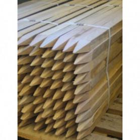 Piquet de chantier bois