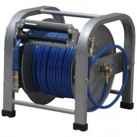 Enrouleur tuyau air comprimé de chantier 30 m