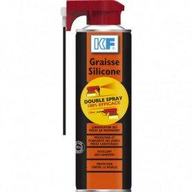 Graisse silicone double spray