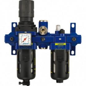 Filtre régulateur lubrificateur 168 m³/h