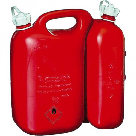 Jerrycan double compartiment