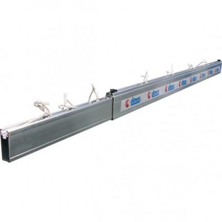 Plinthe aluminium télescopique