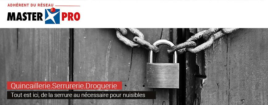 Quincaillerie | Serrurerie | Droguerie sur Sofibac.fr