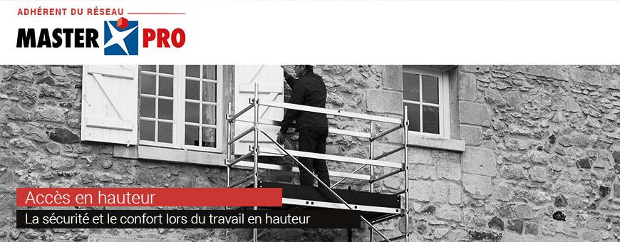 Accès en hauteur | La sécurité du travail en hauteur par Sofibac