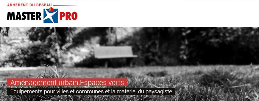 Solutions pour l'aménagement urbain et les espaces verts