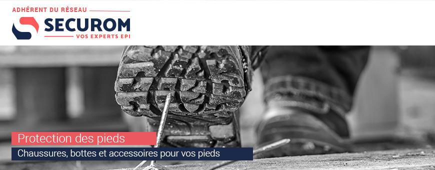 Protection de pieds|Chaussures et bottes de sécurité